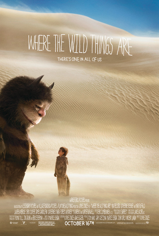 """Where the Wild Things Are"" movie poster"