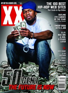 50 Cent - December 2009/January 2010 Issue of XXL Magazine