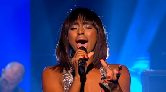 """Alexandra Burke Performs """"The Silence"""" (click to watch!)"""