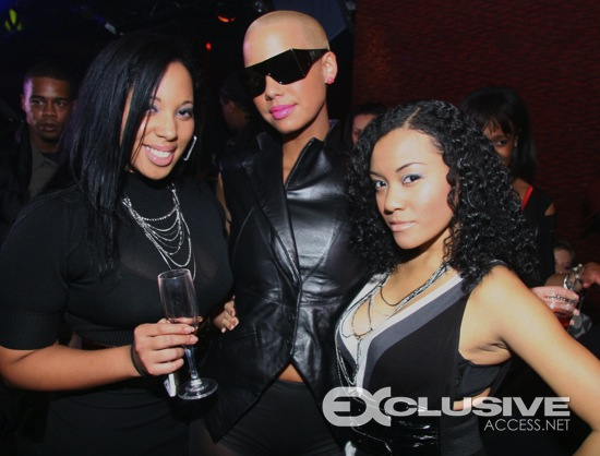 Amber Rose's first Atlanta appearance at Club Primal