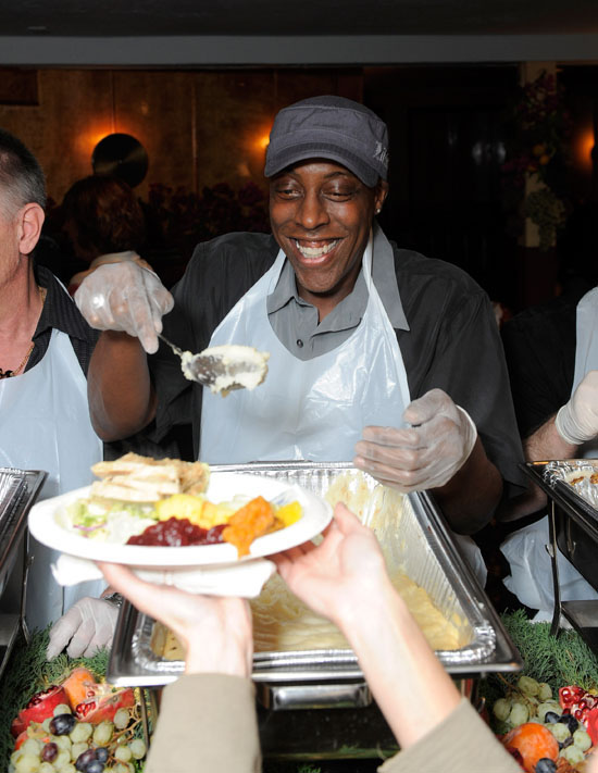Arsenio Hall // The Laugh Factory's 31st Annual Free Thanksgiving Feast