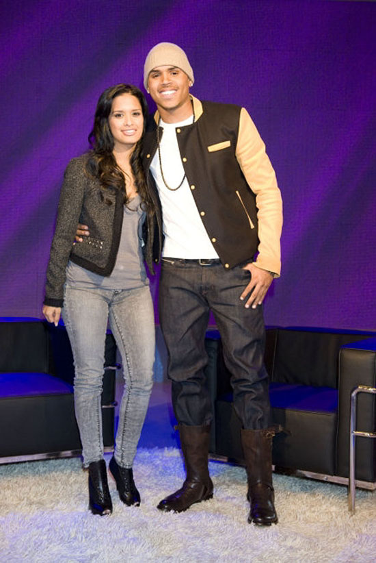 Chris Brown and Rocsi // BET's 106 & Park - November 12th 2009