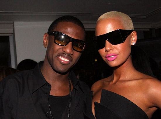 Fabolous & Amber Rose // Fabolous' 32nd Birthday Party at the Hotel on Rivington in NYC