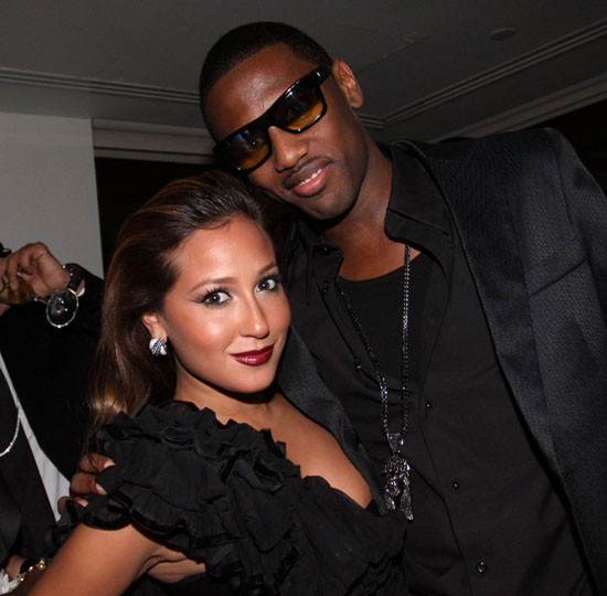 Adrienne Bailon & Fabolous // Fabolous' 32nd Birthday Party at the Hotel on Rivington in NYC