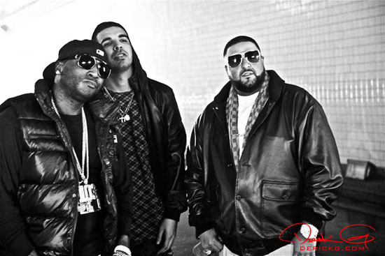 """Young Jeezy, Drake and DJ Khaled // """"Fed Up"""" music video shoot"""