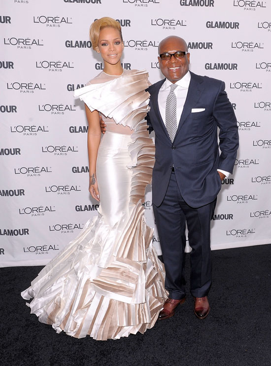Rihanna and L.A. Reid // Glamour Magazine 2009 Women of the Year Awards