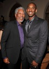 Morgan Freeman and Kobe Bryant // 14th Annual GQ Men of the Year Party in Hollywood