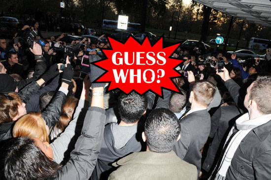 GUESS WHO?!: Celebrity Couple Leaving their Hotel in London (click to watch!)