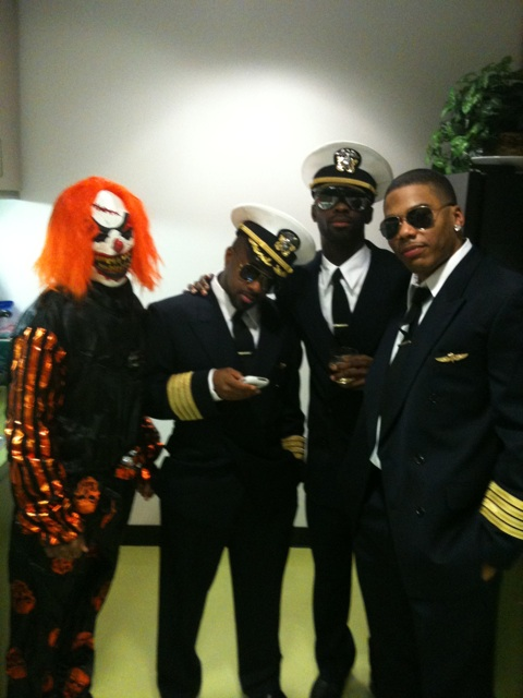 Bow Wow, Jermaine Dupri, Bryan Michael Cox and Nelly (Halloween 2009)