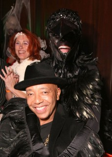 Russell Simmons and Heidi Klum // Heidi Klum & Seal's 10th Annuall Halloween Party