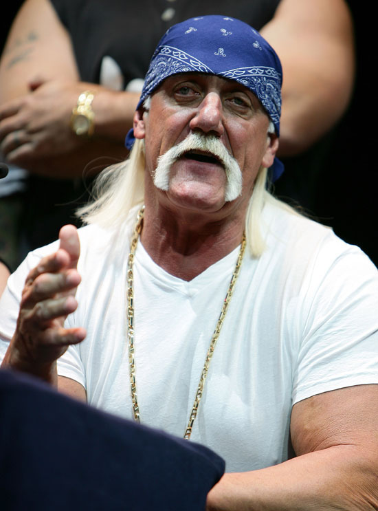 "Hulk Hogan // ""Hulkamania: Let The Battle Begin"" Press Conference in Sydney, Australia"
