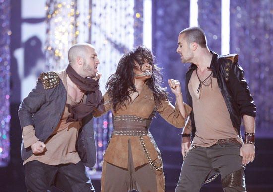 Janet Jackson // 2009 American Music Awards (Show)