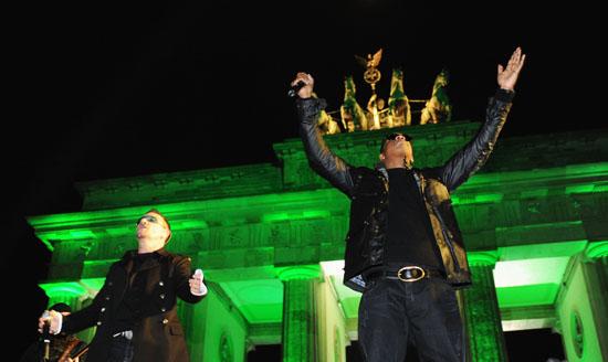 Jay-Z & U2 // 2009 MTV Europe Awards