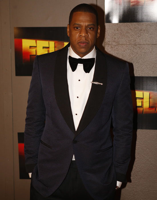 "Jay-Z // Opening night of ""Fela!"" on Broadway in New York City"