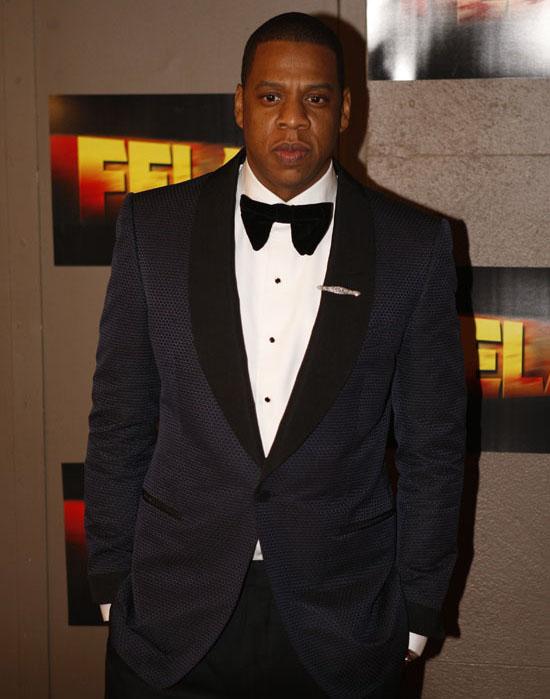 "Jay-Z // Opening night of ""Fela!"" on Broadway in New York City"