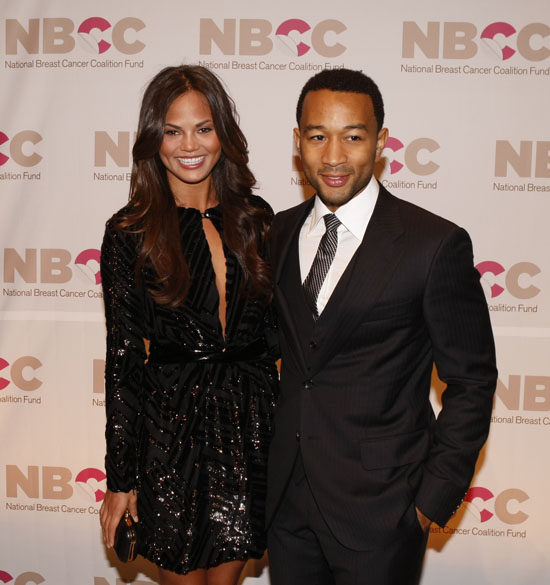 John Legend & Christine Teigein // 14th Annual National Breast Cancer Coalition Fund's New York Gala