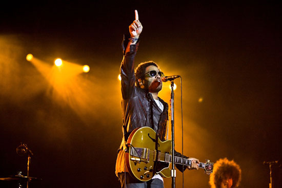 Lenny Kravitz // The 2009 Voodoo Experience in New Orleans