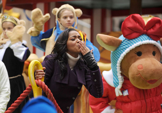 Keke Palmer // Macy's 83rd Annual Thanksgiving Day Parade