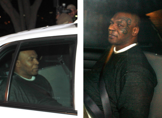 Mike Tyson in police custody - November 11th 2009