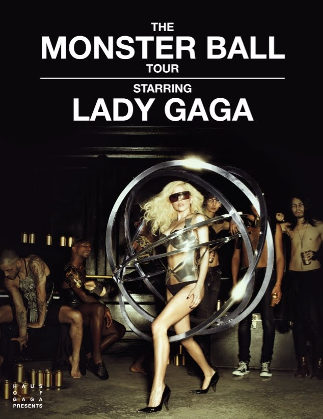 "Lady Gaga - ""Monster Ball Tour"" (Lady Gaga falls on stage -- click to watch!)"