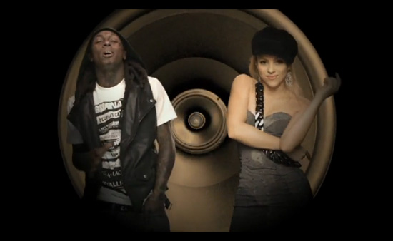 """MUSIC VIDEO: Shakira F/ Lil Wayne - """"Give It Up To Me"""" -- click to watch!"""