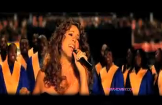"MUSIC VIDEO: Mariah Carey - ""I Want to Know What Love Is"" -- click to watch!"
