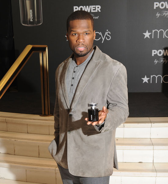 50 Cent // Power by Fifty Fragrance Launch