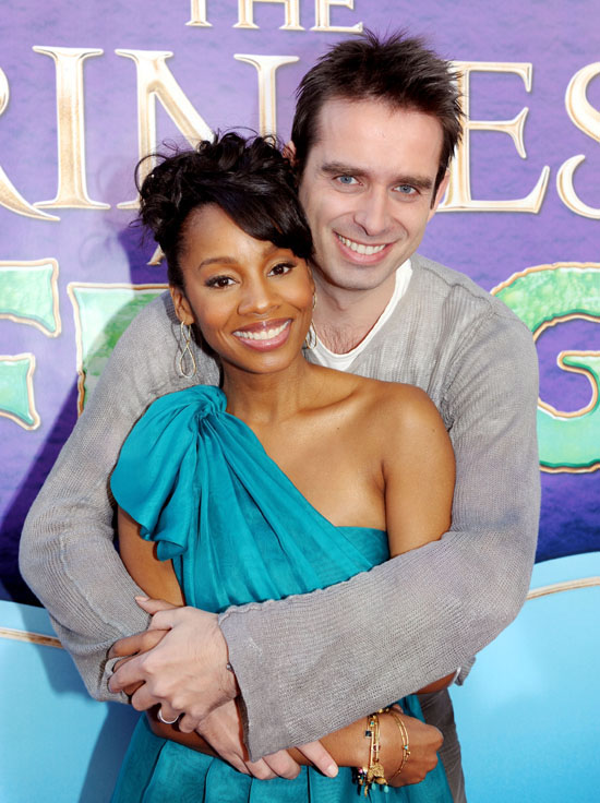 "Anika Noni Rose & Bruno Campos // Premiere of Walt Disney's ""The Princess and the Frog"""