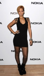 Rihanna // Launch Party/Concert for the Nokia X6 at the Brixton Academy in London, England
