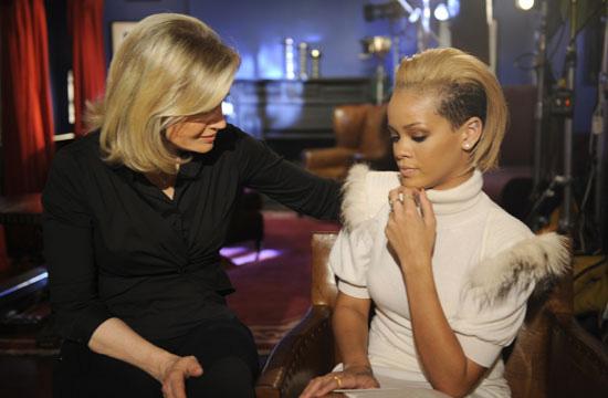 Rihanna & ABC's Diane Sawyer