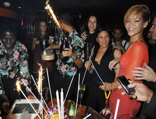 Rihanna // Rihanna's Nokia Concert Afterparty at Mahiki, Mayfair in London