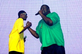 "Snoop Dogg and Biz Markie // ""Yo Gabba Gabba! : There's A Party In My City"" Live Show"