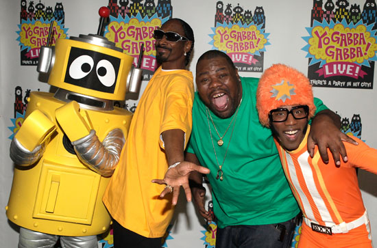 "Snoop Dogg, Biz Markie and Plex // ""Yo Gabba Gabba! : There's A Party In My City"" Live Show"