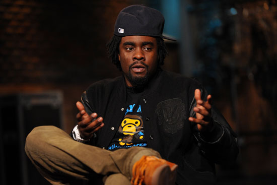 """Wale // Fuse TV's """"Hip Hop Shop"""" in New York City - November 10th 2009"""