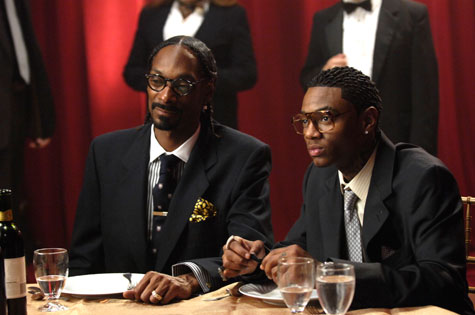 "Soulja Boy & Snoop Dogg on the set of their ""Pronto"" Music Video"