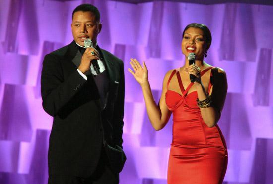 Terrence Howard & Taraji P. Henson // 2009 Soul Train Music Awards (Show)