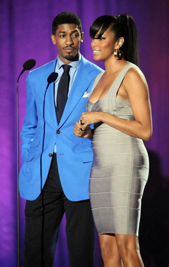 Fonzworth Bentley Amp Letoya Luckett 2009 Soul Train Music Awards Show