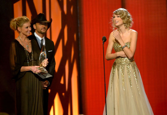 Taylor Swoft // 2009 Country Music Association Awards