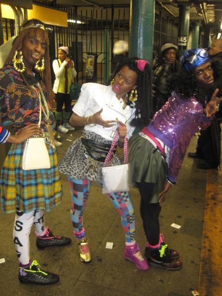 Teyana Taylor & friends (Halloween 2009)