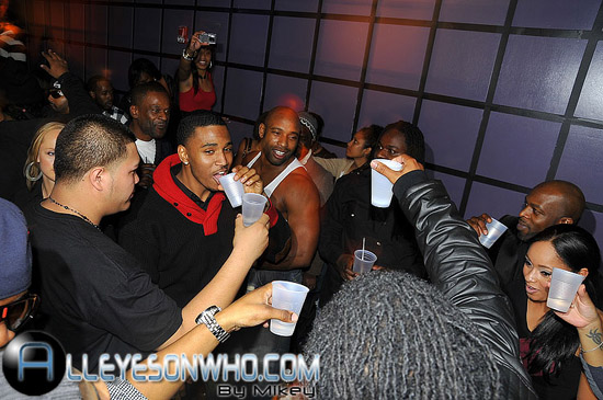 Trey Songz' 25th Birthday at the 501 Lounge in New Jersey
