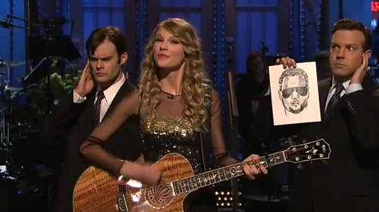 "Taylor Swift - ""The Monologue Song (La La La)"" on Saturday Night Live (click to watch!)"