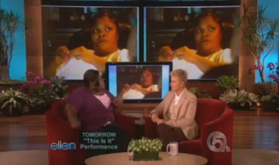 VIDEO: Gabourey Sidibe on The Ellen Show (click to watch!)