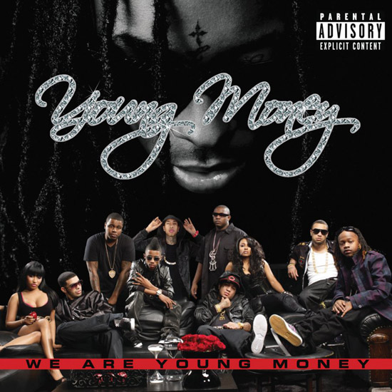 """Young Money - """"We Are Young Money"""" album cover"""