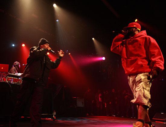 "Method Man & Redman performs at Snoop Dogg's ""Wonderland High School Tour"" in New York City"