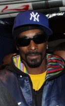 "Snoop Dogg backstage at his ""Wonderland High School Tour"" in New York City"