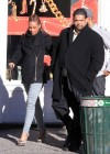 Alicia Keys & Swizz Beatz shopping in New York City - December 17th 2009