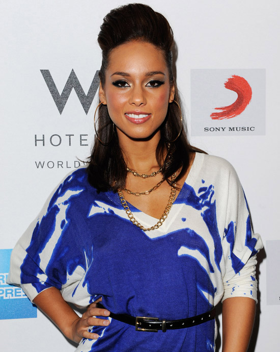 Alicia Keys // Element of Freedom Album Release Party in London