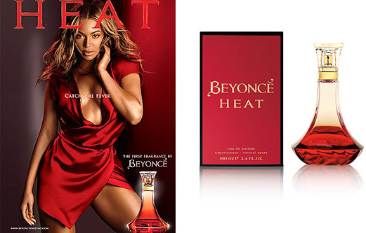 Beyoncé introduces her new fragrance Heat