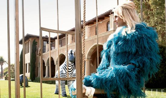 Britney Spears // January 2011 Elle Magazine
