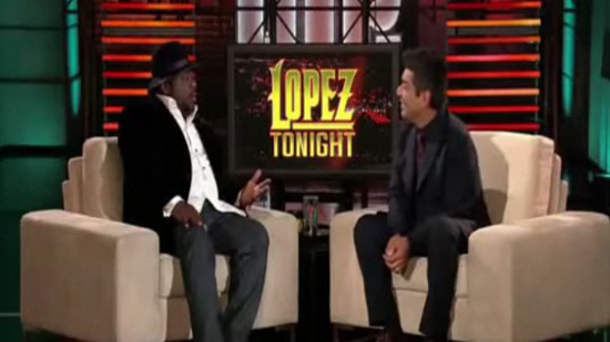 VIDEO: Cedric the Entertainer on Lopez Tonight (George Lopez' New Talk Show) -- click to watch!